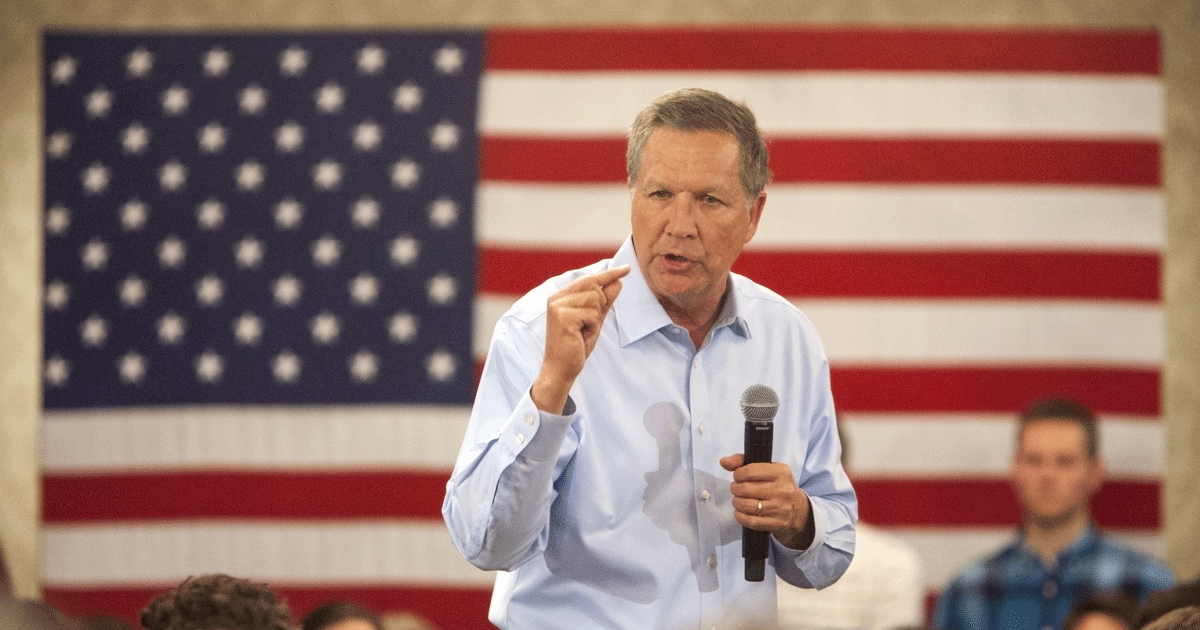 Kasich On Economic Realities