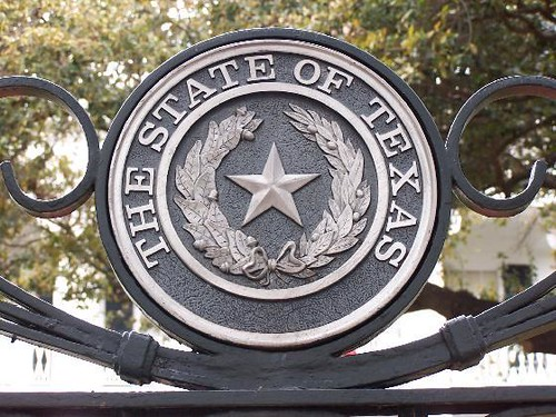 """""""Seal Of The State Of Texas"""" By J. Stephen Conn Is Licensed Under CC BY-NC 2.0"""