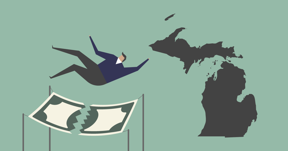Michigan Is A Low-prosperity State Detailed