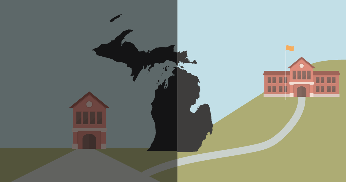 Michigan's School Choice Is Resulting In School Segregation