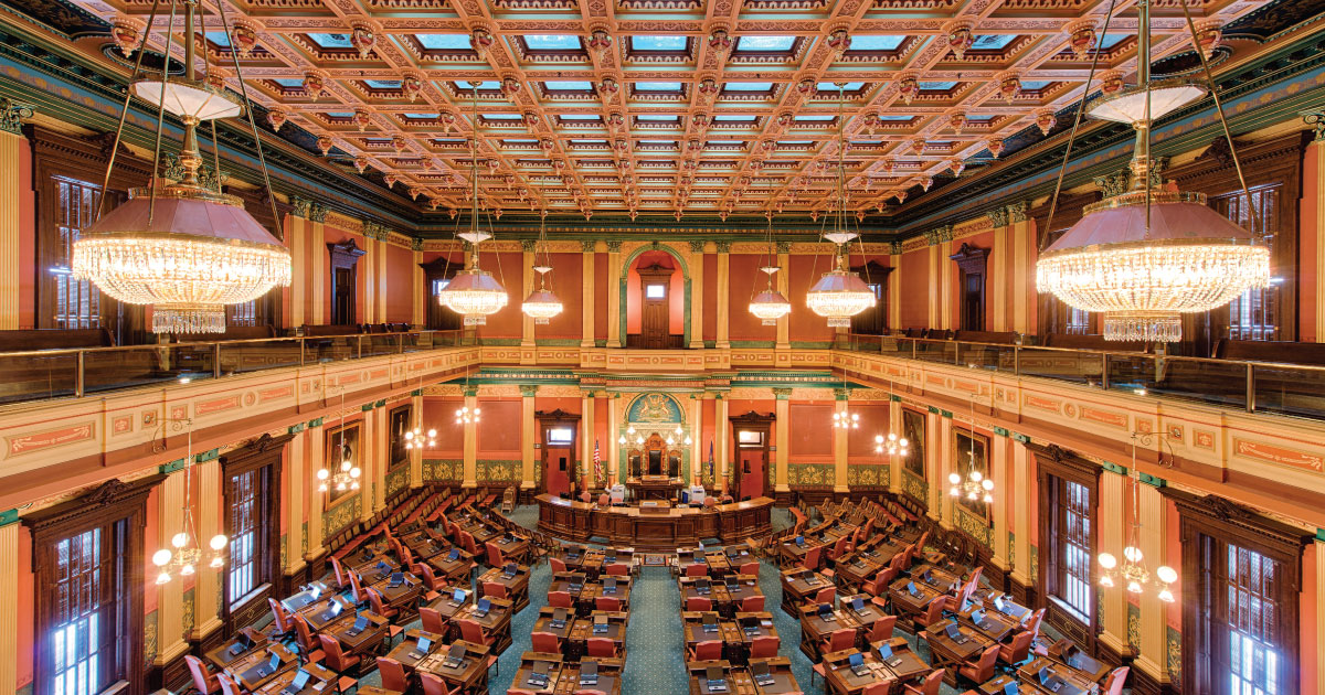 Kansas Rs Raise Taxes, Michigan Ds MIA